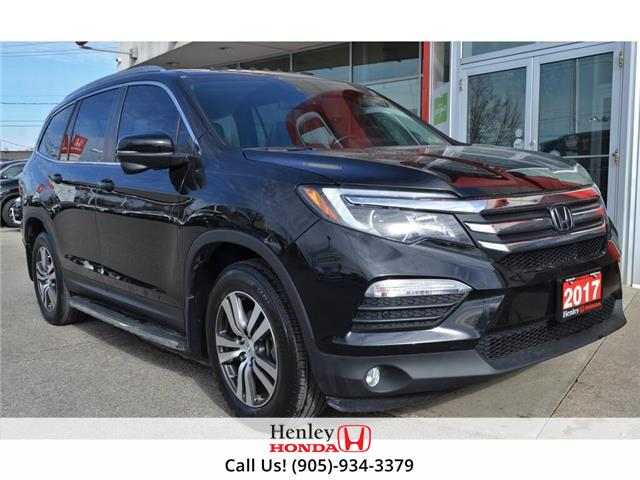 2017 Honda Pilot LEATHER | HEATED SEATS | BLUETOOTH | BACK UP (Stk: R9678) in St. Catharines - Image 1 of 29