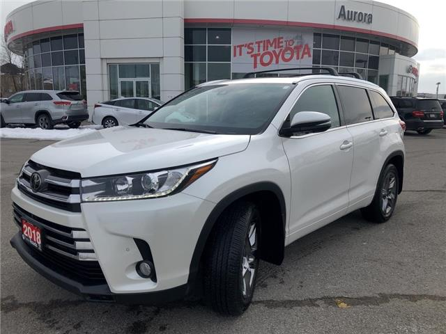 2018 Toyota Highlander Limited (Stk: 316121) in Aurora - Image 1 of 27
