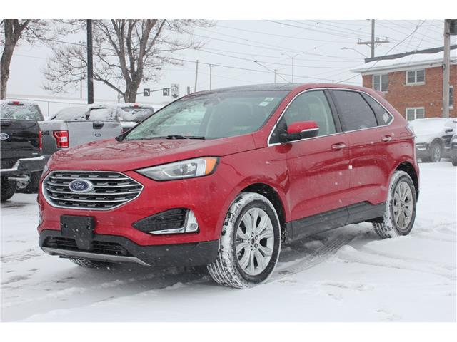 2020 Ford Edge Titanium (Stk: 2002290) in Ottawa - Image 1 of 17