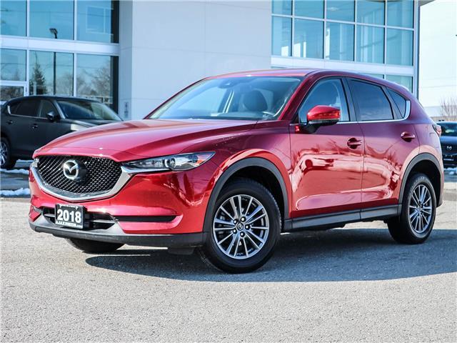 2018 Mazda CX-5 GS (Stk: 20-1105A) in Ajax - Image 1 of 24