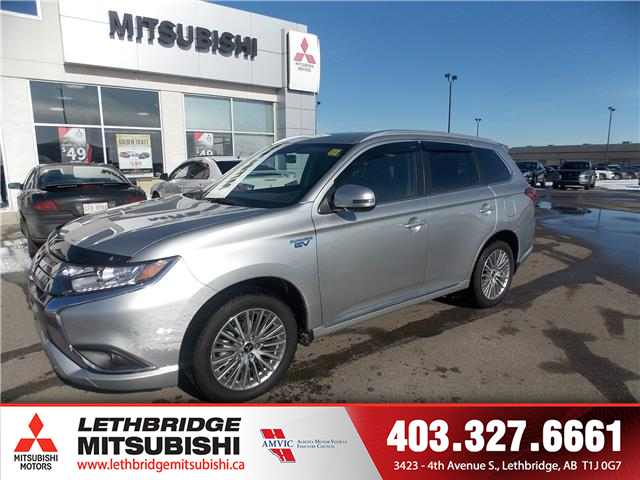 2020 Mitsubishi Outlander PHEV SE (Stk: 20T603554) in Lethbridge - Image 1 of 16
