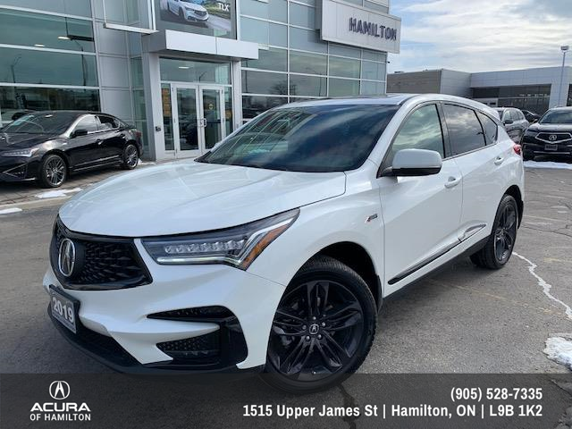 2019 Acura RDX A-Spec (Stk: 1918730) in Hamilton - Image 1 of 30