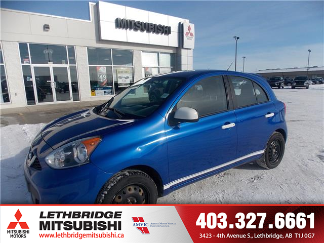 2015 Nissan Micra S (Stk: 9E600617B) in Lethbridge - Image 1 of 16