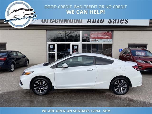 2015 Honda Civic EX (Stk: 15-00198) in Greenwood - Image 1 of 27