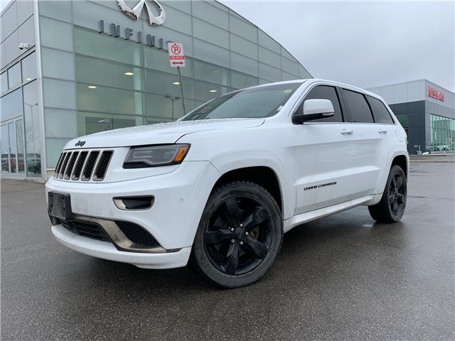 2015 Jeep Grand Cherokee Overland (Stk: E20010-1) in London - Image 1 of 1