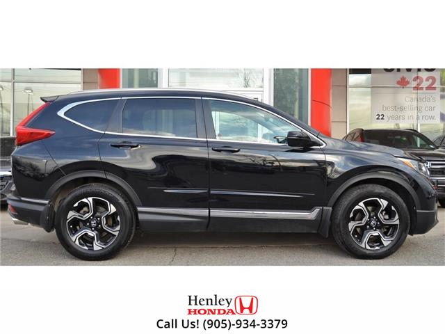 2018 Honda CR-V NAV | LEATHER | HEATED SEATS | SUNROOF | BACK UP (Stk: R9690) in St. Catharines - Image 2 of 32