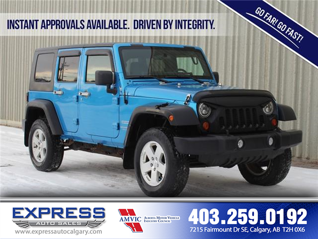2010 Jeep Wrangler Unlimited Sport (Stk: P15-1274A) in Calgary - Image 1 of 17