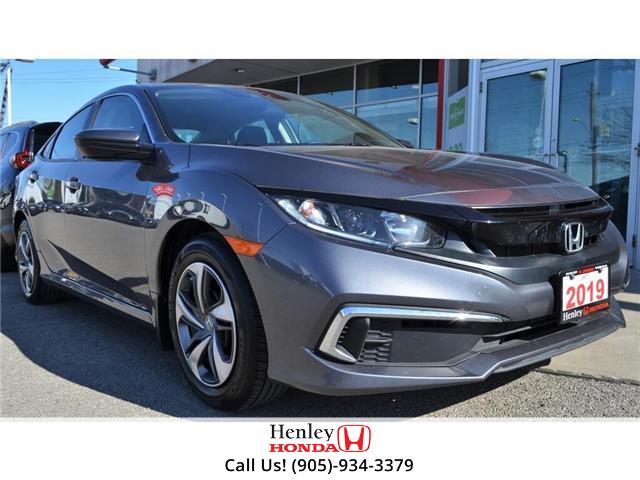 2019 Honda Civic Sedan BLUETOOTH | HEATED SEATS | BACK UP CAMERA (Stk: R9677) in St. Catharines - Image 1 of 21