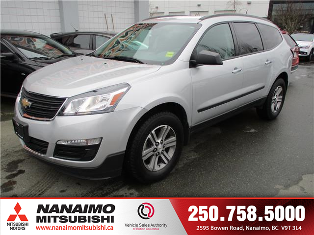 2017 Chevrolet Traverse LS (Stk: 20T0308A) in Nanaimo - Image 1 of 10