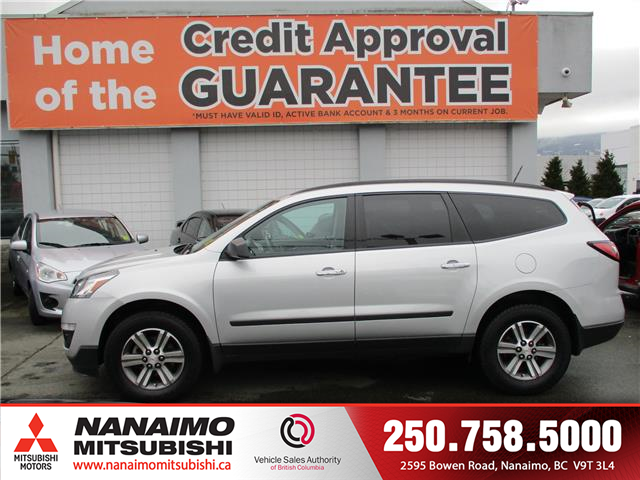 2017 Chevrolet Traverse LS (Stk: 20T0308A) in Nanaimo - Image 2 of 10