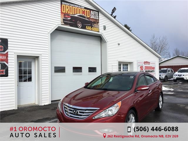 2012 Hyundai Sonata Limited (Stk: 7853) in Oromocto - Image 1 of 21