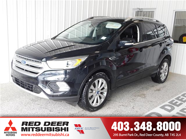 2018 Ford Escape Titanium (Stk: L8765) in Red Deer County - Image 1 of 16