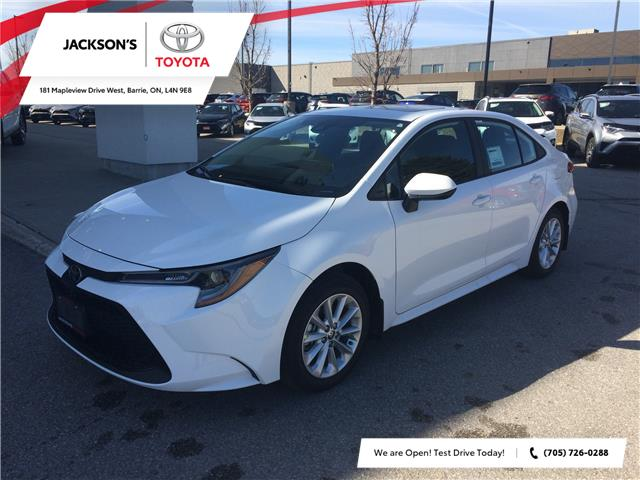 2020 Toyota Corolla LE (Stk: 6930) in Barrie - Image 1 of 14