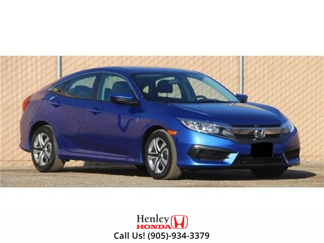 2017 Honda Civic Sedan BLUETOOTH | HEATED SEATS | BACK UP (Stk: R9716) in St. Catharines - Image 1 of 1