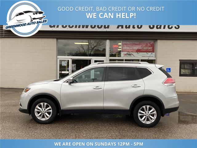 2016 Nissan Rogue SV (Stk: 16-88643) in Greenwood - Image 1 of 24