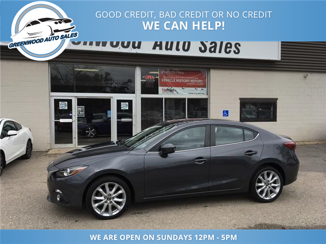 2014 Mazda Mazda3 GT-SKY (Stk: 14-78612) in Greenwood - Image 1 of 28