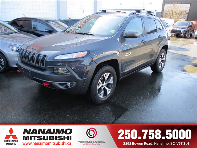 2016 Jeep Cherokee Trailhawk (Stk: P1774A) in Nanaimo - Image 1 of 10