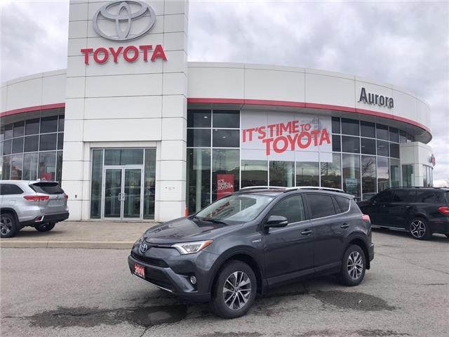 2016 Toyota RAV4 Hybrid XLE (Stk: 316681) in Aurora - Image 1 of 18