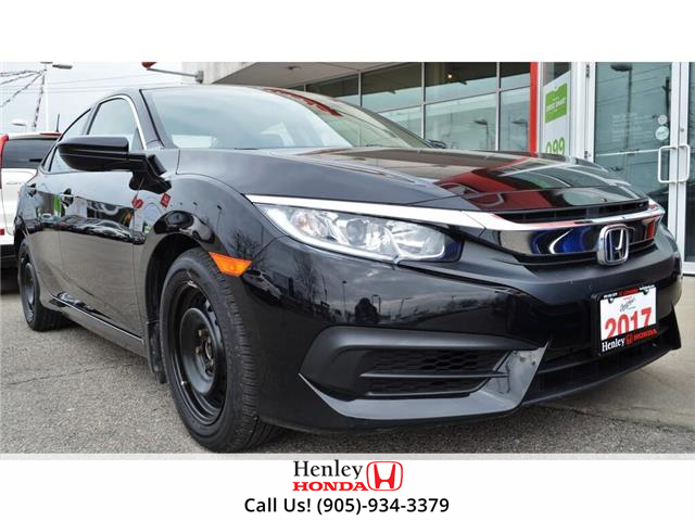 2017 Honda Civic Sedan BLUETOOTH | HEATED SEATS | BACK UP CAMERA (Stk: R9704) in St. Catharines - Image 1 of 15