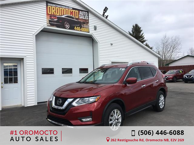 2019 Nissan Rogue SV (Stk: 811) in Oromocto - Image 1 of 18