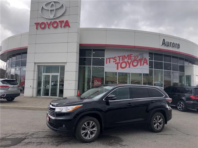2016 Toyota Highlander LE (Stk: 316101) in Aurora - Image 1 of 19