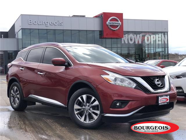 2017 Nissan Murano SL (Stk: 20MR15A) in Midland - Image 1 of 18