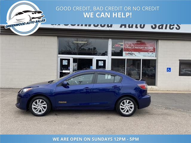 2012 Mazda Mazda3 GS-SKY (Stk: 12-41931) in Greenwood - Image 1 of 17