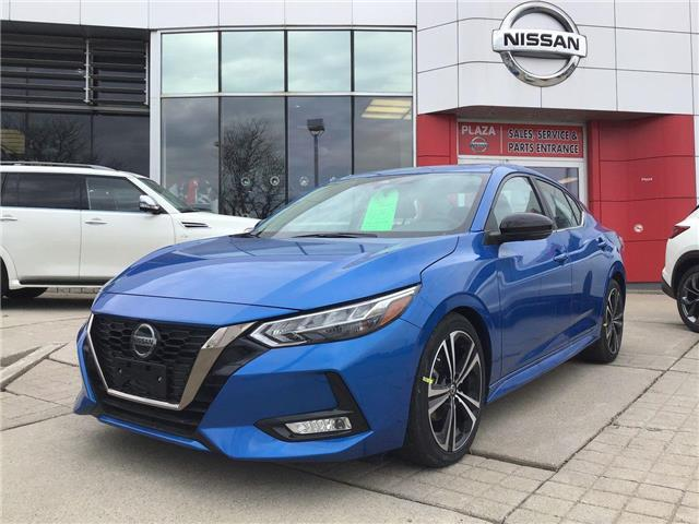 2020 Nissan Sentra SR (Stk: A8772) in Hamilton - Image 1 of 4