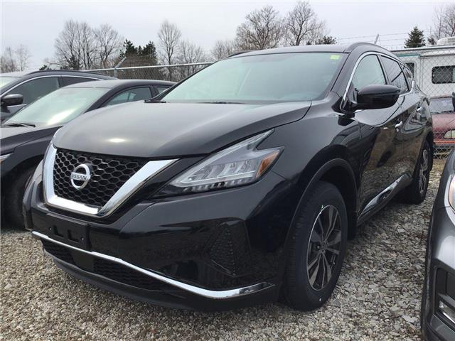 2019 Nissan Murano S (Stk: A8243) in Hamilton - Image 1 of 4