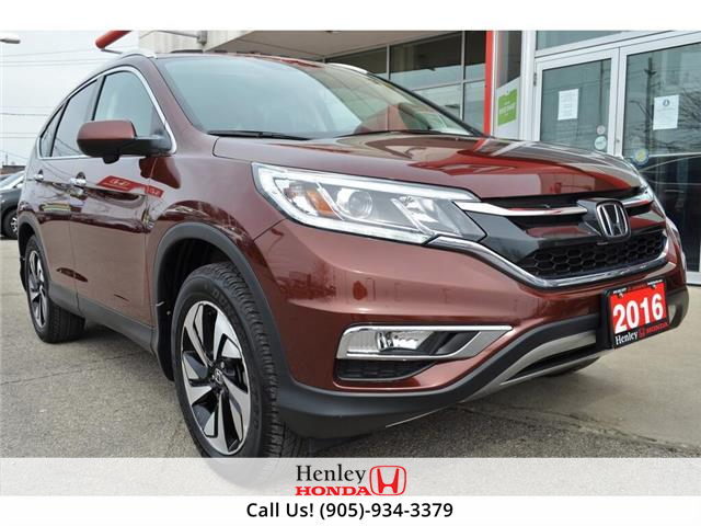 2016 Honda CR-V NAV | LEATHER | HEATED SEATS | BACK UP (Stk: R9727) in St. Catharines - Image 1 of 33