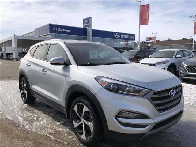 2016 Hyundai Tucson Limited (Stk: B7527) in Saskatoon - Image 1 of 18