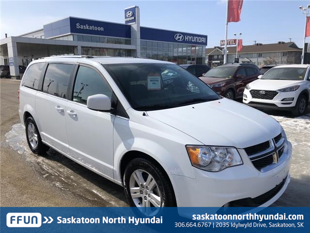 2018 Dodge Grand Caravan Crew (Stk: B7509) in Saskatoon - Image 1 of 19
