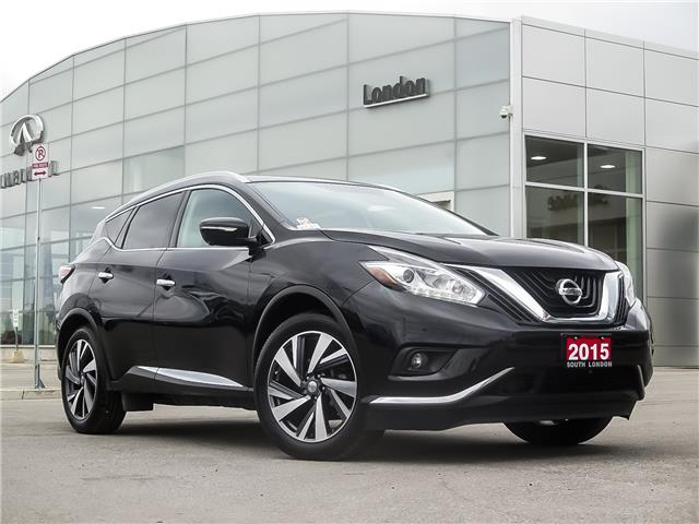 2015 Nissan Murano Platinum (Stk: E19124-1) in London - Image 1 of 27