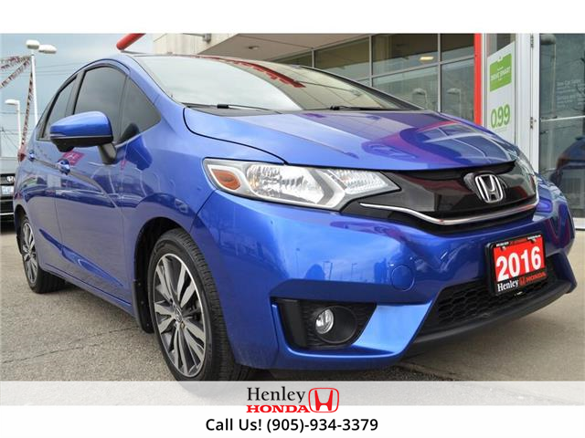 2016 Honda Fit NAV | LEATHER | HEATED SEATS | BACK UP (Stk: R9728) in St. Catharines - Image 1 of 22