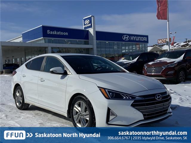 2020 Hyundai Elantra Preferred w/Sun & Safety Package (Stk: 40360A) in Saskatoon - Image 1 of 21