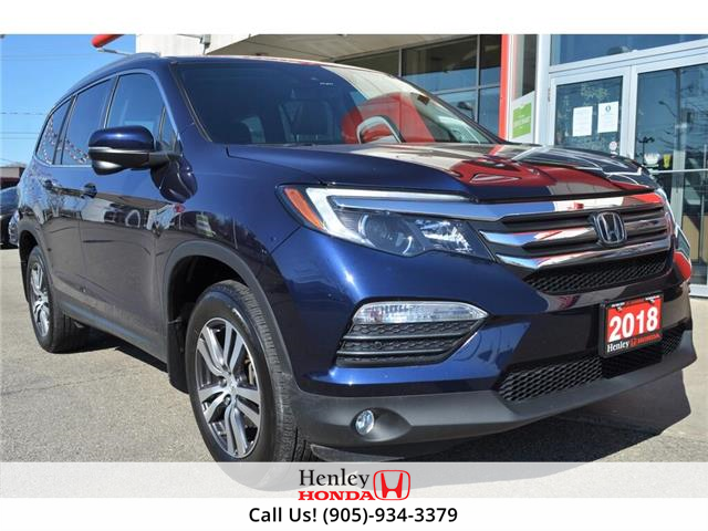 2018 Honda Pilot NAV | LEATHER | HEATED SEATS | BACK UP (Stk: R9741) in St. Catharines - Image 1 of 26