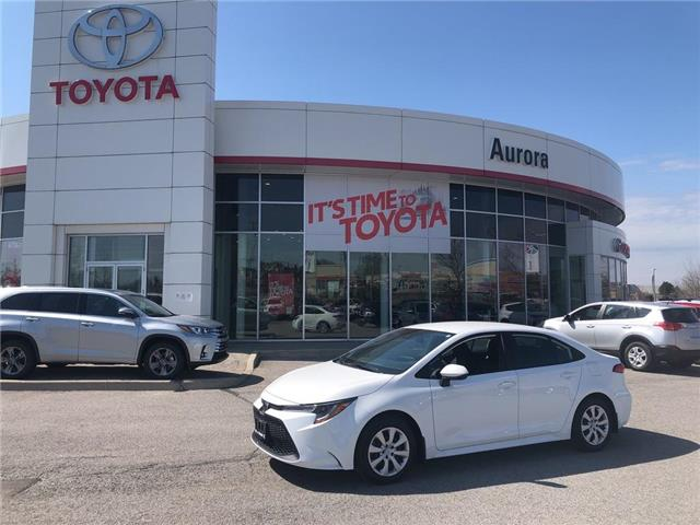 2020 Toyota Corolla LE (Stk: 41840) in Aurora - Image 1 of 18
