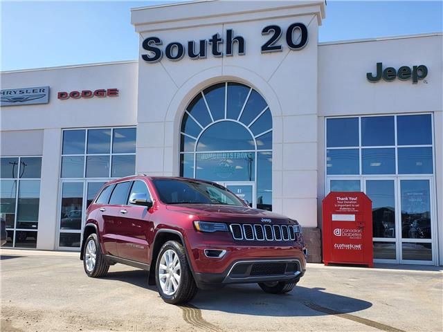 2017 Jeep Grand Cherokee Limited (Stk: 40031A) in Humboldt - Image 1 of 20