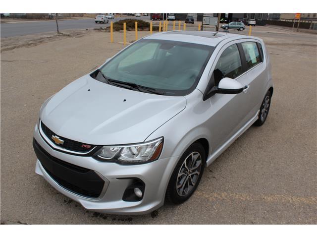 2017 Chevrolet Sonic LT Auto (Stk: P1783) in Regina - Image 1 of 27