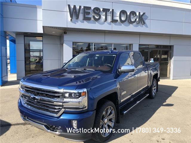 2018 Chevrolet Silverado 1500 High Country (Stk: 20T116A) in Westlock - Image 1 of 14