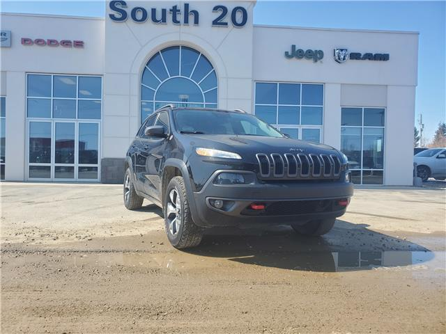 2016 Jeep Cherokee Trailhawk (Stk: B0122) in Humboldt - Image 1 of 17