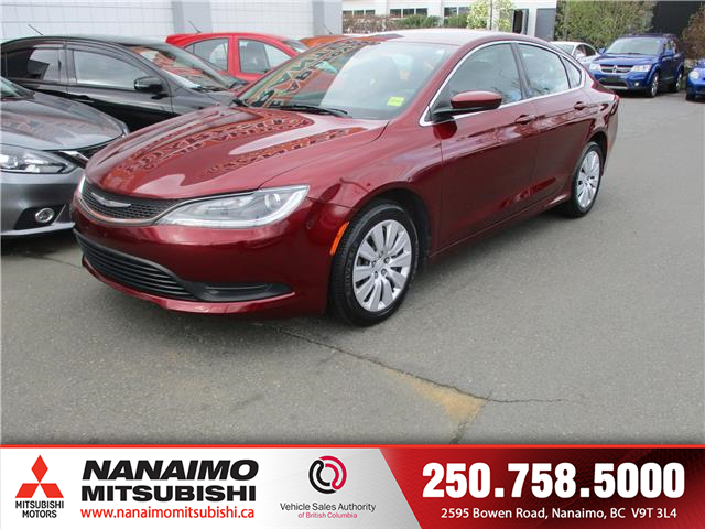 2015 Chrysler 200 LX (Stk: LP1778A) in Nanaimo - Image 1 of 9