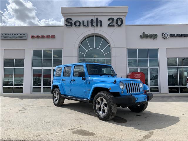 2018 Jeep Wrangler JK Unlimited Sahara (Stk: B0080) in Humboldt - Image 1 of 22