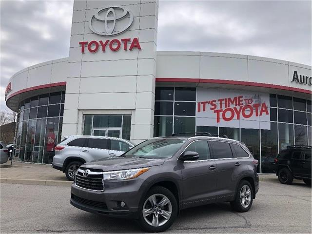 2016 Toyota Highlander Limited (Stk: 315701) in Aurora - Image 1 of 23