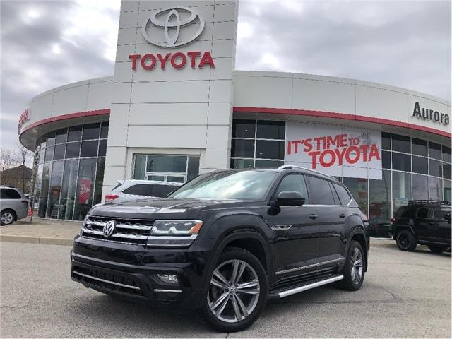 2018 Volkswagen Atlas 3.6 FSI Highline (Stk: 6673) in Aurora - Image 1 of 24