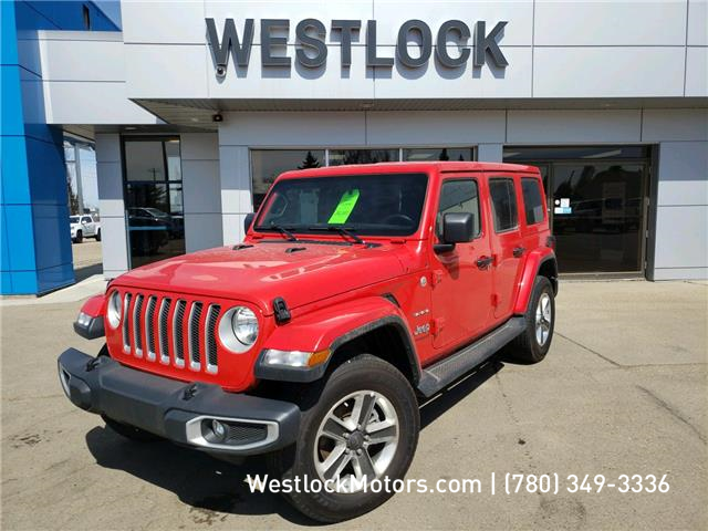 2019 Jeep Wrangler Unlimited Sahara (Stk: T1951) in Westlock - Image 1 of 19