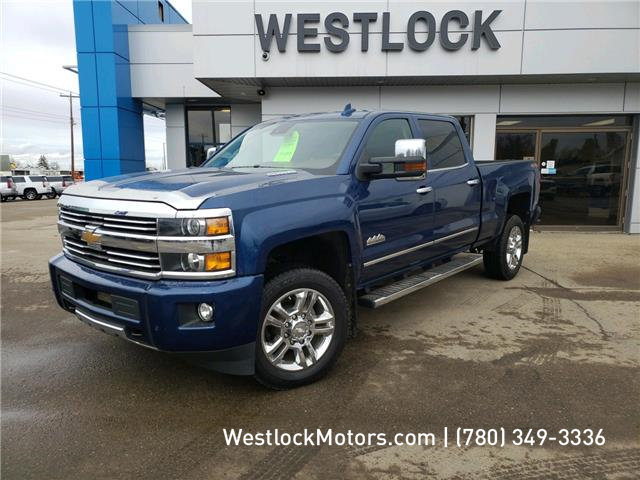 2015 Chevrolet Silverado 2500HD High Country (Stk: T1945A) in Westlock - Image 1 of 18
