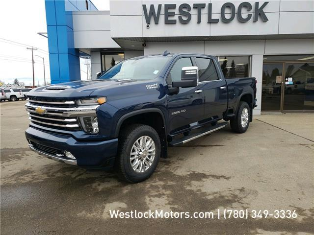 2020 Chevrolet Silverado 3500HD High Country (Stk: 20T120) in Westlock - Image 1 of 24
