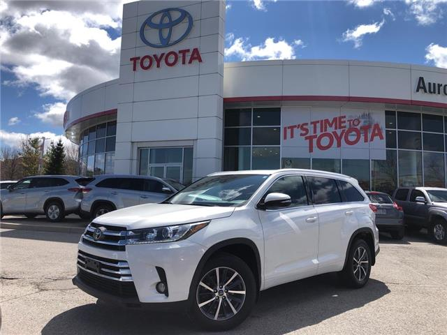 2018 Toyota Highlander XLE (Stk: 317561) in Aurora - Image 1 of 22