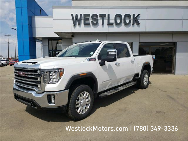 2020 GMC Sierra 3500HD SLT (Stk: 20T38) in Westlock - Image 1 of 20